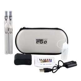 $enCountryForm.capitalKeyWord Australia - Double eGo-T Electronic Cigaree Kits Zipper Case E Cigarees 650 900 1100mAh Baery