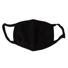 Черный хлопок рот Маска хлопок анти пыли защитный двойной Kpop Маска моющиеся много раз, используя маски