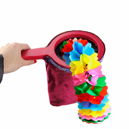 $enCountryForm.capitalKeyWord NZ - Magical Props Magic Change Bag Twisting Handle Make Things Appear Disappear Magic Trick Gift for Children