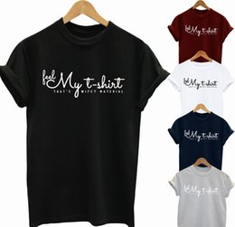 T Shirts Materials NZ - FEEL MY T SHIRT THAT IS WIFEY MATERIAL funny gift top t shirt