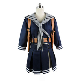 BaBy sailor suits online shopping - Sucker Punch cosplay Baby Doll costume Jacket Scarf Sailor Dress Skirt Cosplay Costume Full Suit Halloween Carnival sets
