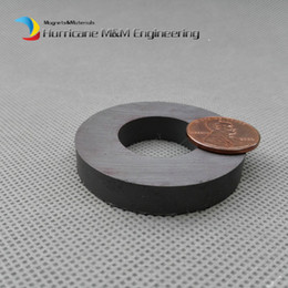 "$enCountryForm.capitalKeyWord Canada - 2 pieces Ferrite Magnet Ring OD 45x22x8 mm 1.5"" Large Grade C8 Ceramic Magnets for DIY Loud Speaker Sound Box board Sub-woofer"