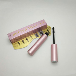 Wholesale In stock Newest T F BetterThan Sex Mascara Rose gold Better than Love Cool Black Mascara Pink Package DHL Top qualtity