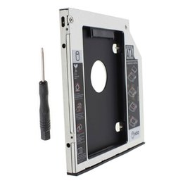 Discount lenovo disk drive - 9.5mm Universal Serial ATA 2nd HDD SSD hard disk drive caddy bay For Lenovo IdeaPad Z500 Z500t Z510 Z510t series laptop