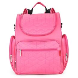$enCountryForm.capitalKeyWord Canada - 9 Colors Insular Diaper Bag Backpack Solid Color Baby Stroller Hang Storage Baby Bag for Mom Mommy Bolsa de momia A3
