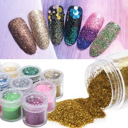 2019 Latest Design Qibest Shimmer Glitter Powder Eye Shadow Face Eyes Lips Nails And Glue Waterproof Colorful Laser-makeup Brand Qibest #l18036 Eye Shadow Beauty & Health