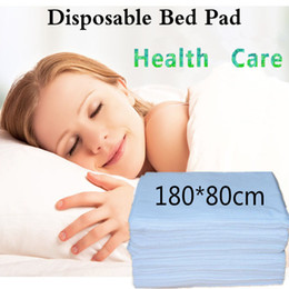 sheet fabric wholesale Australia - White Blue Disposable Medical Massage Special Non-Woven Bed Pad Beauty Salon SPA Dedicated health care Bed Sheet