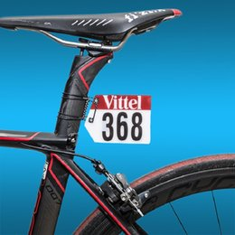 $enCountryForm.capitalKeyWord Canada - DIY MTB Road Bike Triathlon Racing Number Plate Mount Holder Cycling Vittel Plate Number Holder Cards Bracket Aero Seatpost