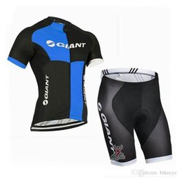 67d67bc7b GIANT team Cycling Short Sleeves jersey (bib) shorts sets newst Summer  Breathable Mens mtb bicycle Clothes ropa ciclismo C1515