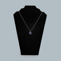 $enCountryForm.capitalKeyWord NZ - Tall Jewelry Necklace Chain Display Stand Black Velvet Foldable Cardboard Jewellery Displays for Boutique Shop Shelf Kiosk Craft Market Show
