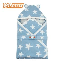 $enCountryForm.capitalKeyWord UK - Newborns Discharge Cartoon Bear Ear Envelopes for Sleeping Bag for Stroller Autumn Grey Star Knitting Infant Sleep Sacks Winter