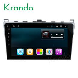 "China Krando Android 7.1 10.1"" (no dvd) car dvd gps navigation for Mazda 6 2008-2012 audio radio multimedia entertainment system bluetooth suppliers"