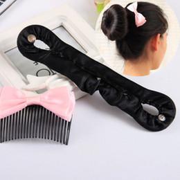 Hair Locking Tool Australia - New Women Girls Hair Braiding Tool Roller Magic Twist Styling Bun Maker Locks Weaves Hair Band Accessories 1Pc