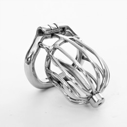 $enCountryForm.capitalKeyWord Australia - 2018 New 50mm Male Chastity Device Cock Cage with Arc Shaped Ring Catheters Chastity Lock Sex Toys Men SM Fetish Sex Game