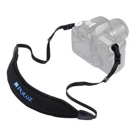Camera Shoulder Strap Australia - PULUZ Adjustable Anti-Slip Soft Diving Pad Single Shoulder Camera Strap for SLR   DSLR Cameras Nylon Camera Strap