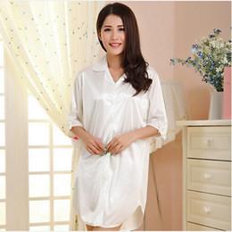 d7c60d7fcf Women s nightgown short summer dresses for women casual ladies silk  nightdress royal sleepwear sleepshirt chemise femme Q788