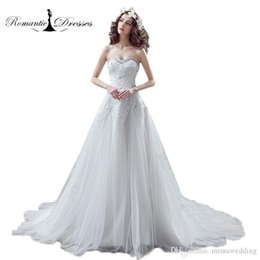 $enCountryForm.capitalKeyWord NZ - Plus Size In stock Wedding Dresses A Line Romantic Dresses Real Photos Sweetheart Luxury Beaded Fast Delivery China Bridal Gowns 30272