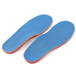 hair pads UK - Sports insole kids arch support full pad breathable sweat absorbing brioche Non-slip children flat foot orthopedic Insole