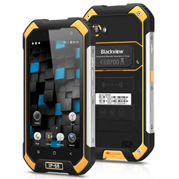 Gps 2gb NZ - 2GB 16GB Blackview BV6000s 4G LTE Quad Core MTK6737T Android 7.0 NFC GPS 4500mAh IP68 Waterproof Shockproof Scratch-proof Rugged Smartphone