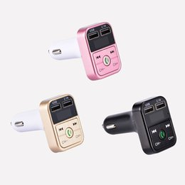 Usb gold disk online shopping - B2 USB Car Kit Wireless Bluetooth Handsfree Call FM Transmitter Radio Adapter Charger MP3 Player Support TF Card U disk