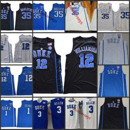 Mens 2018 NCAA Duke Blue Devils Zion Williamson College Basketball Jersey  Trevon Duval Garyson Allen Marvin Bagley Duke Blue Devils Jerseys. NZ 25.97  ... 049530453