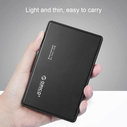 "black sata hard drive 2019 - Original ORICO 2.5"" inch Hard Drive Enclosure Tool-free USB 3.0 HDD Caddy External SSD Case for SATA HDD SSD Black"