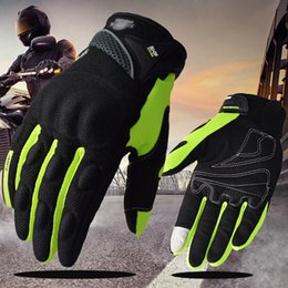 green moto gloves NZ - Suomy Motorcycle Gloves Motorbike Gloves Touch Screen Breathable Guantes Moto Gloves Racing Summer Spring Men Women Luva Moto DH