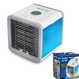 Wholesale USB Artic Air Cooler Fan Personal Space Cooler Portable Desk Fan Mini Air Conditioner Device Cool Soothing Wind For Home Office