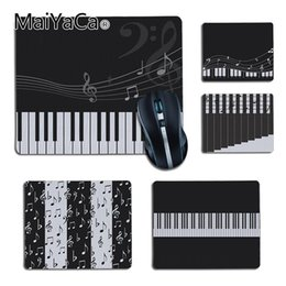 $enCountryForm.capitalKeyWord NZ - MaiYaCa Vintage Cool Music Notes Piano Key gamer play mats Rubber Mouse pad Gaming Pad mouse Gamer To Laptop Keyboard for cs