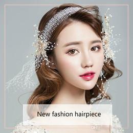 $enCountryForm.capitalKeyWord Australia - Free Shipping White Bridal New Arrival Tiaras Headband Wedding Jewelry Hair Piece for Brides Bridal Accessory Headband Wholesale