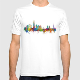 south korea shirts 2019 - 2018 new t shirt Seoul Skyline South Korea shirt cheap south korea shirts