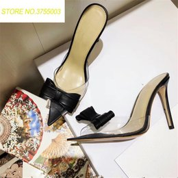 2e2f4c9b165bdd Women Slippers 2018 Fashion High Heeled Women Strange Heels Mules PVC Transparent  Shoes Clear Open Toe Apricot Plus Siz