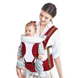 Bethbear Cómodo Portabebés Transpirable Multifuncional Mochila para Bebé Soplo de Cadera Cintura Taburete Bolsa de Bebé Canguro