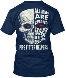 $enCountryForm.capitalKeyWord NZ - Trendy Pipe Fitter Helpers Standard Unisex T-Shirt (S-3XL) T Shirt Men Boy Geek Short Sleeve Fashion Custom XXXL Party T-shirts