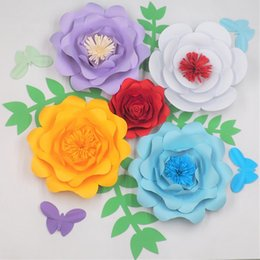 Paper flower kits australia new featured paper flower kits at best 8 photos paper flower kits australia giant paper flowers backdrop half made full kits with leaves butterflies mightylinksfo
