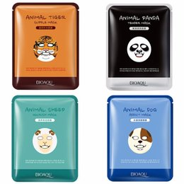 NourishiNg mask online shopping - BIOAQUA Tiger Panda Sheep Dog Shape Animal Face Mask Moisturizing Oil Control Hydrating Nourishing Facial Masks