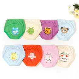 Hot Girls Diapers Australia - Hot Selling 4pcs lot 4 layers Baby Nappies for Boy Girl Underwears Briefs Infant Diapers Waterproof Training Pants