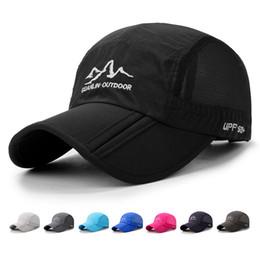 2fa93f3b730 Discount truck caps hats - Outdoor Baseball Cap Men Women Brand Designer  Sports Mesh Caps Hip