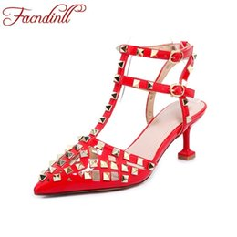 Discount office men ankle shoes - classic rivet dress shoes woman ankle strap fashion sandals sexy high heels gladiator sandals ladies party office women