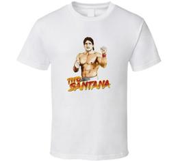 Custom Print T Shirt Cheap Australia - Tito Santana Wwf Legend Wrestling Retro Classic T Shirt 2018 hot tees custom printed tshirt free shipping Cheap tees T shirt printing