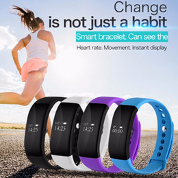 $enCountryForm.capitalKeyWord NZ - V66 Smartband Bluetooth Sport Smart Watch IP67 Waterproof Heart Rate Monitor Wristband Smart Health Bracelet for Android IOS