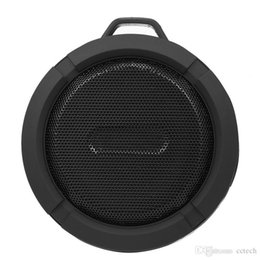 $enCountryForm.capitalKeyWord NZ - C6 Speaker Portable Waterproof Wireless Bluetooth Speakers Suction Cup Handsfree MIC Voice Box For iphone 6 7 8 iPad PC Cell Phone