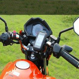 Wasserdichte fahrradtasche outdoor fahrzeuge motorrad fahrrad handy gps navigation case halter rack halterung für 4,8 / 5 zoll phon