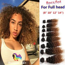 Brazilian Kinky Curly Braiding Hair UK - Free shipping Kinky curly human braiding hair 8bundles jerry black body wave Brazilian hair extension virgin blended weave hair