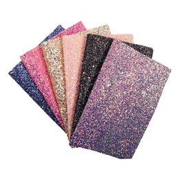 $enCountryForm.capitalKeyWord UK - New Arrival Glitter Fabrics 22*40CM Shiny Glitter Matirial For Sewing Clothes Making Polyester Cotton Fabrics Home Party
