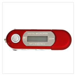 $enCountryForm.capitalKeyWord Australia - 2GB 4GB Red Cute Mini MP3 Music Player USB 2.0 Flash Drive LCD Display w   FM Radio Voice Recorder Hot Sale