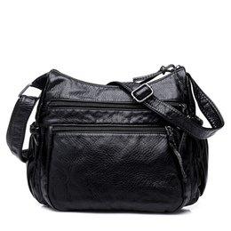 Vintage fashion Crossbody Bag Women s Flap PU Leather Bag Handbag Sac a  Main Femme Ladies Messenger Bag Long Strap Female Clutch Y1891204 d5588c840badc
