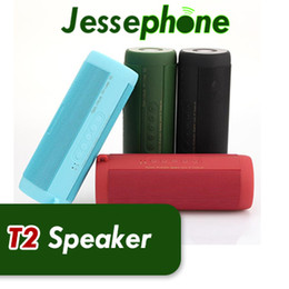 t2 waterproof speaker NZ - T2 Wireless Best Bluetooth Speaker Waterproof Portable Outdoor Wireless Mini Column Box Speakers Support TF Card Boombox free