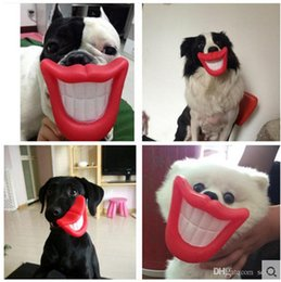 Flaming Toys NZ - Originality Pvc Dog Toys Bite And Wear Resistance Flaming Red Lips Chews Toy Can Phonation Soft Fabric Eco Friendly 1 9zk jj