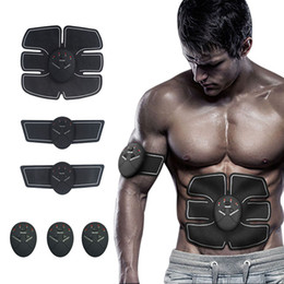 Fit Massager Australia - Durable Smart Stimulator Training Fitness Gear Muscle Abdominal Exerciser Toning Belt Battery Abs Fit High Quality Body Slimming Massager